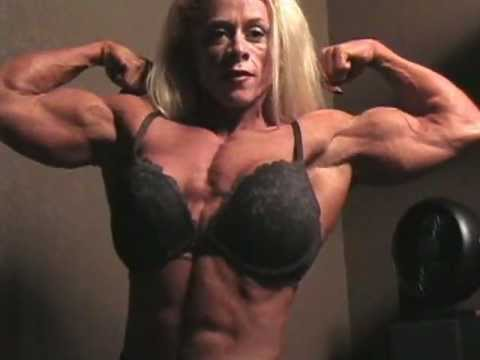 Christine Moore Flexing