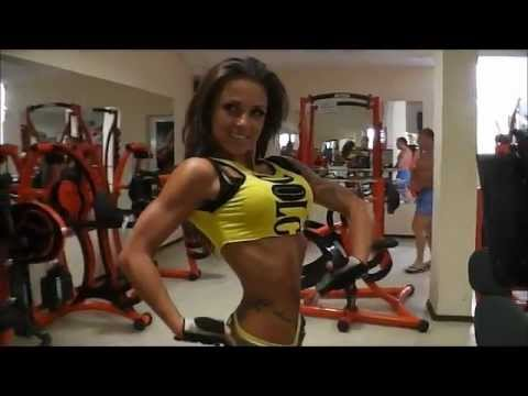 Nadia Petrova – Bulgarian Fitness Model Workout