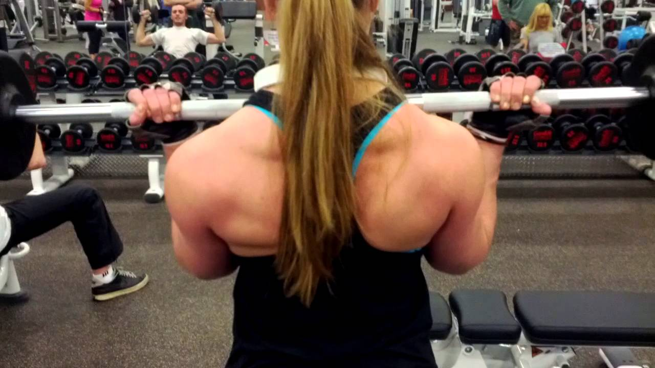 Katia Callegari – Back Workout