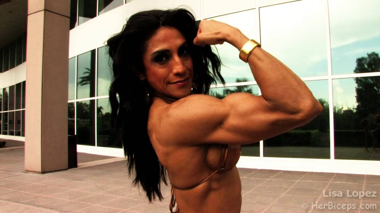Lisa Lopez – Rear Biceps