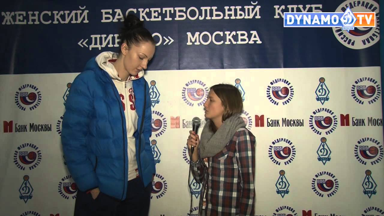 "Ekaterina Lisina (Екатерины Лисиной) – 206cm (6'9"") Tall Basketball Player Interview"