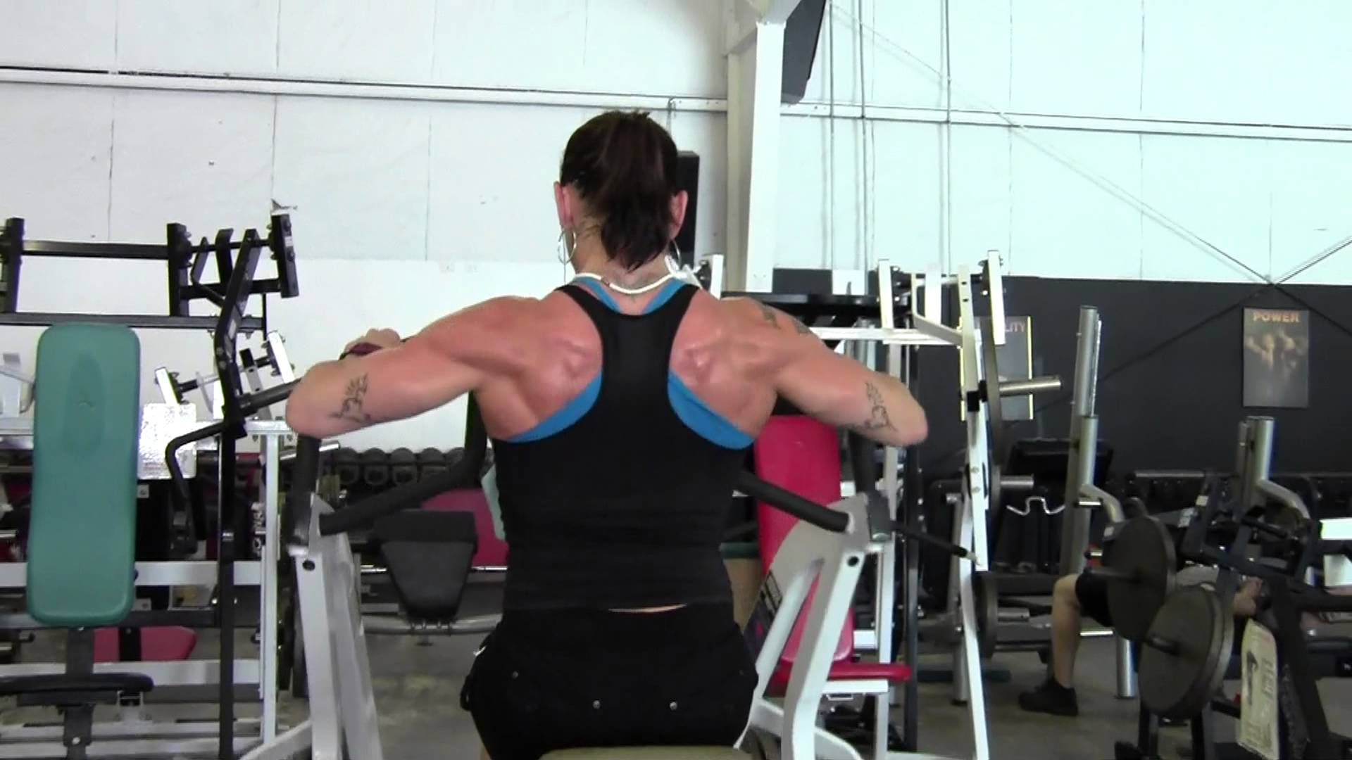 Sarah Dunlap – Back Workout