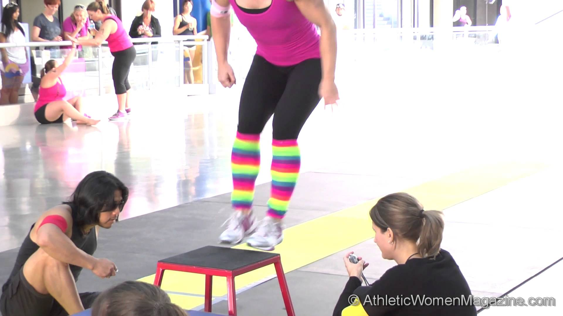 Wendy Lindquist – Femsport 2012 Box Jumps