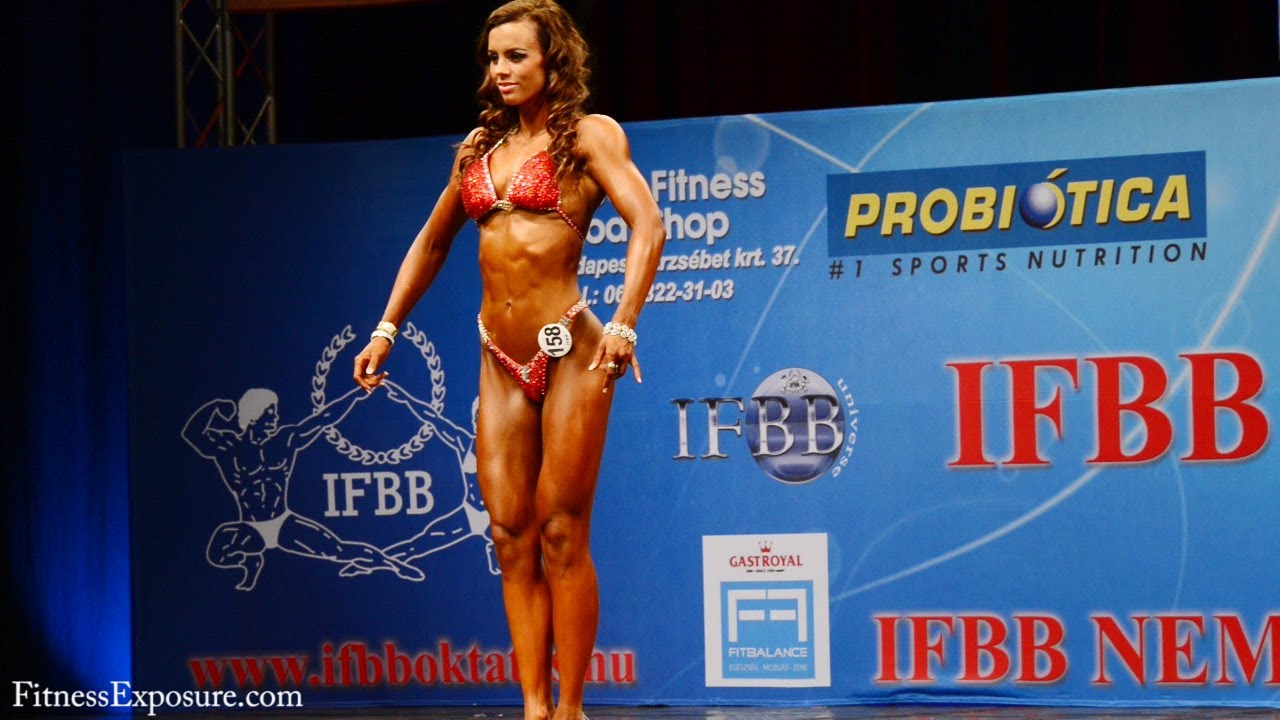 Una Heimisdottir – IFBB Juniors And Masters World Championships 2012
