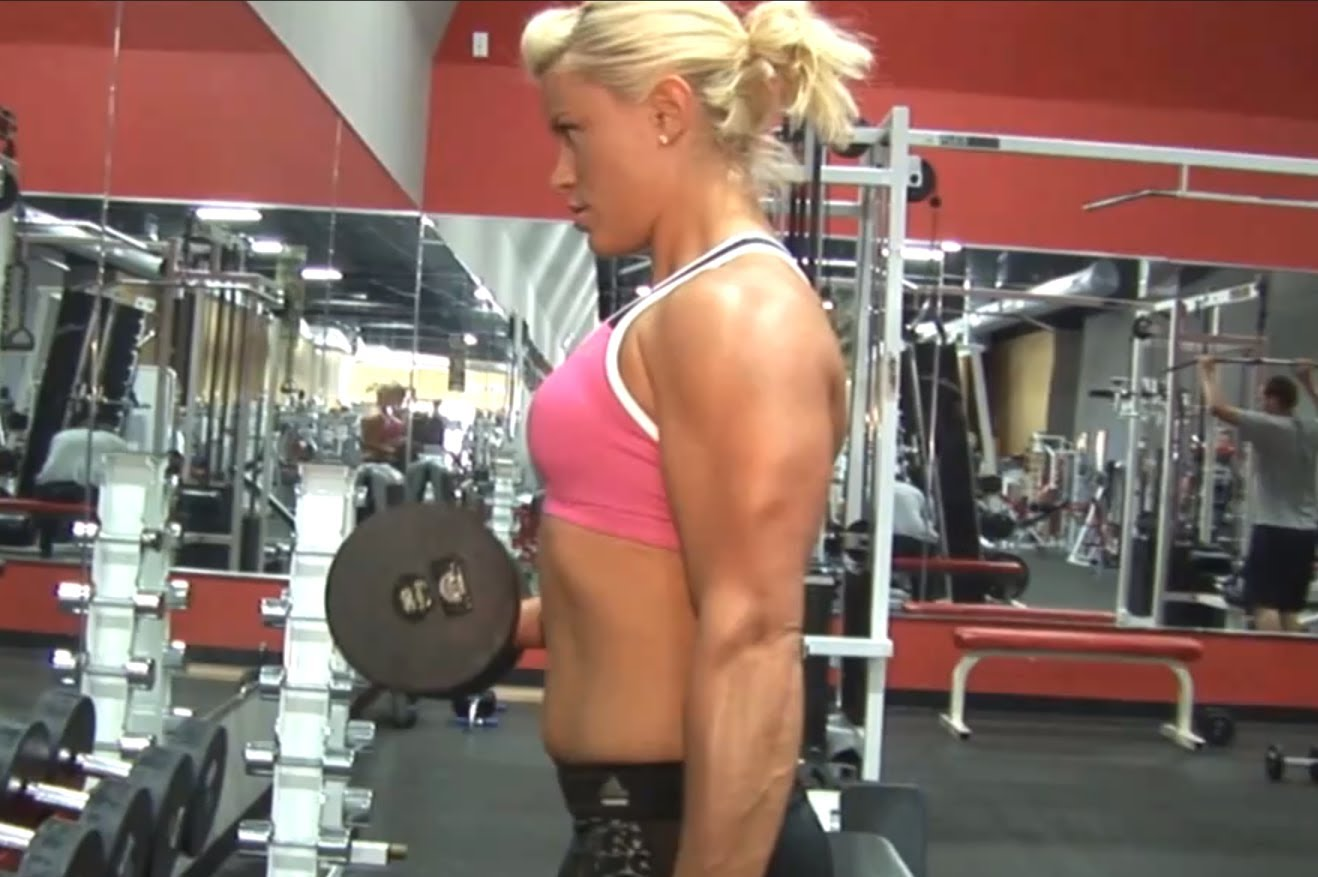 Tanya Hyde – Arms Workout