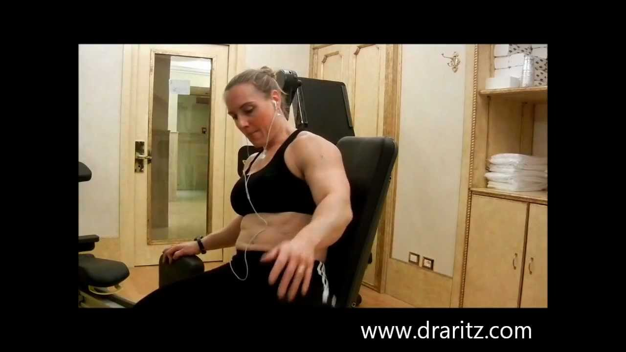 Michi Ritz – Quads Workout