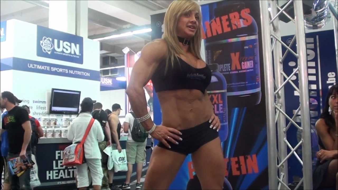 Muscle Girls At FIBO Power 2011