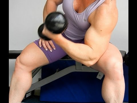 Michi Ritz – Biceps Workout