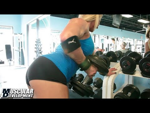 Jill Dearmin – Back & Biceps Workout