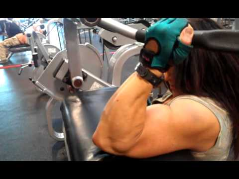 Tonia Moore – Arms Workout
