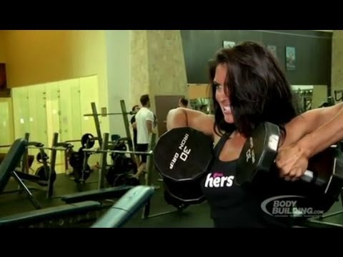 Amanda Latona – Shoulder Workout