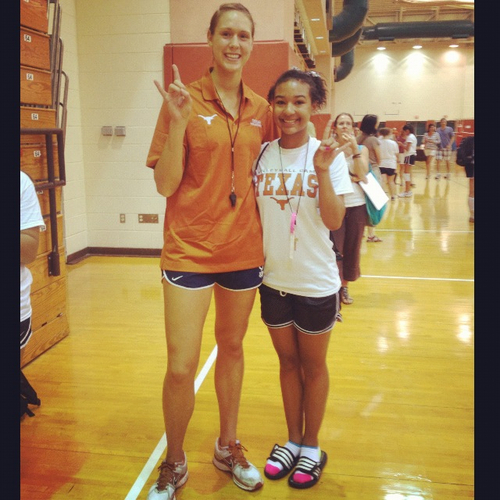 Madelyn hutson cm ″ tall volleyball player