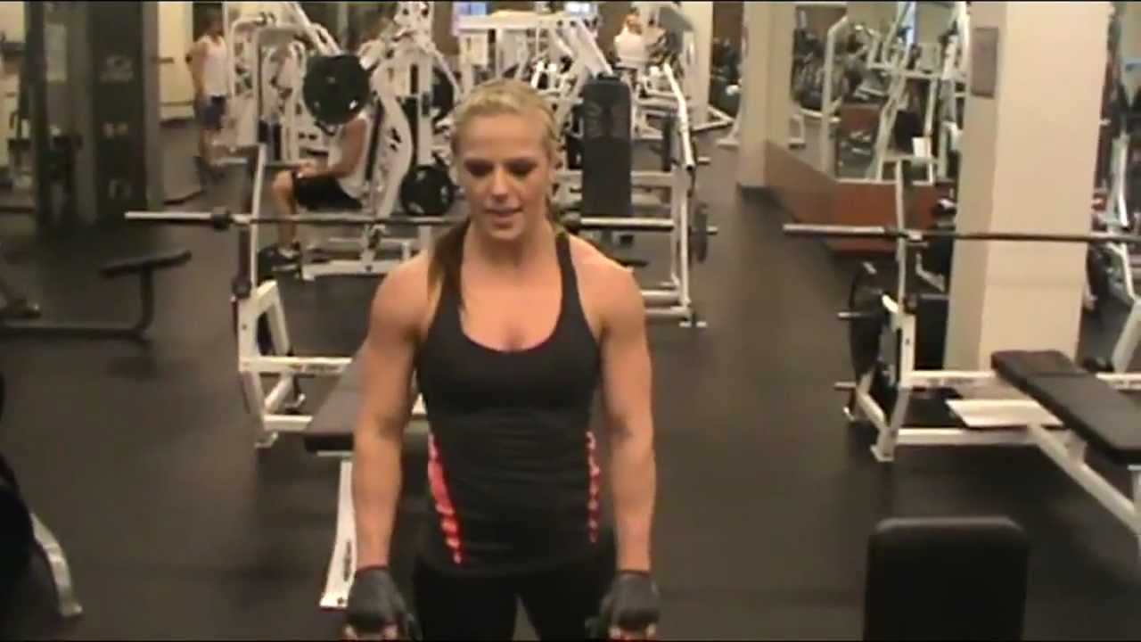 Rachel Gilmore – Shoulder Workout