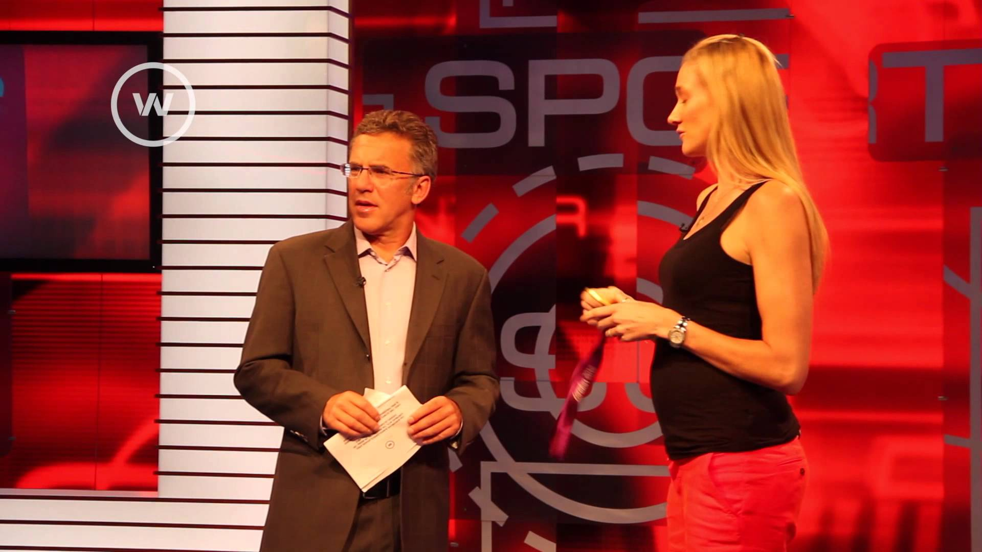 Kerri Walsh Jennings On Sportscenter