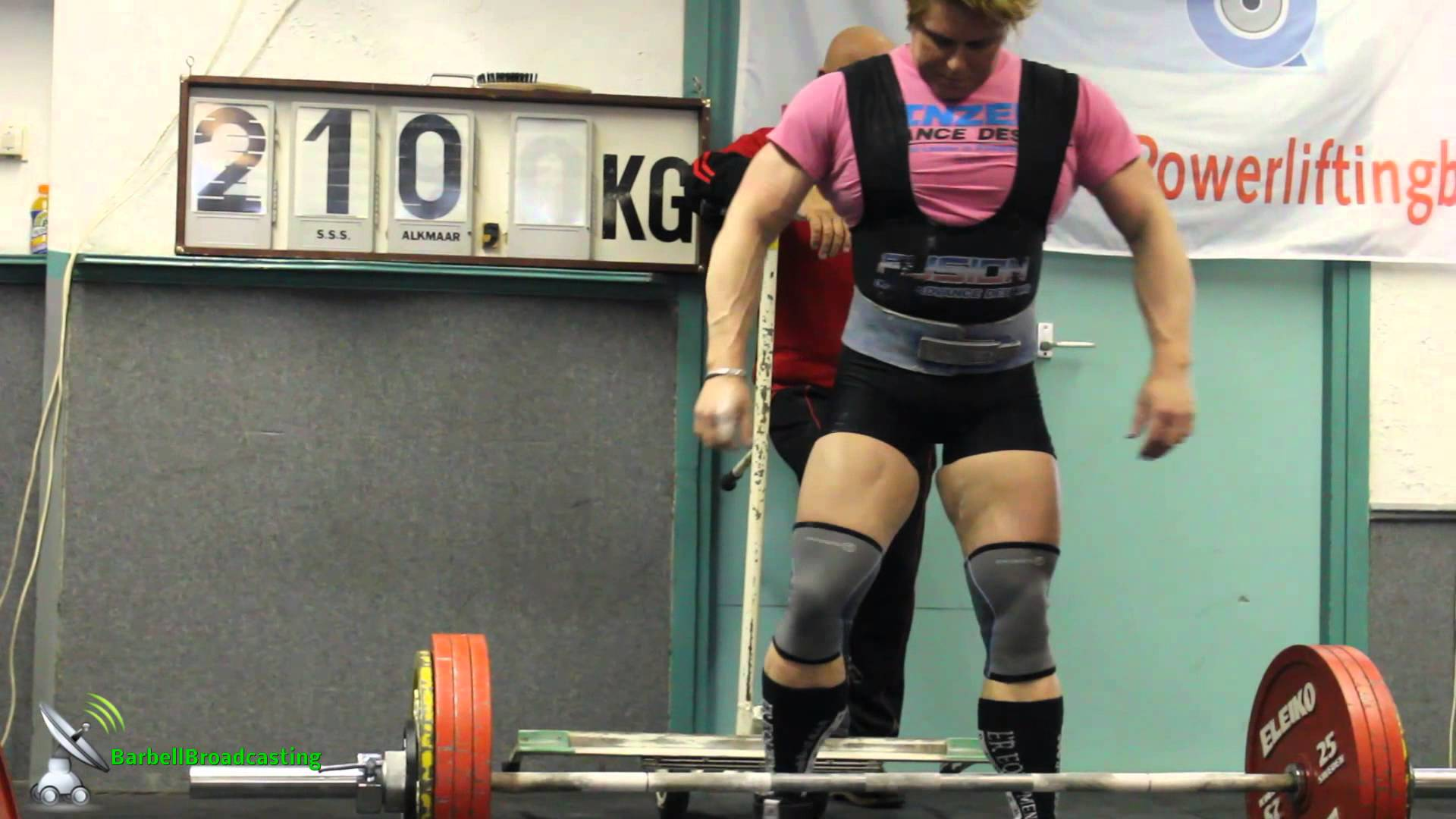 Ielja Strik – Dutch Powerlifting Nationals 2013