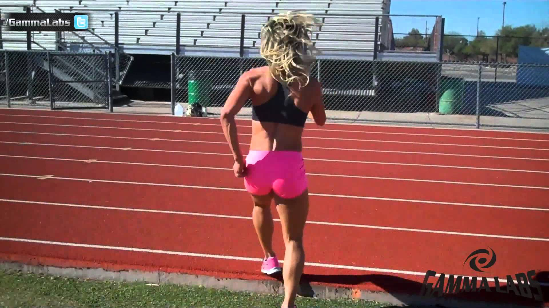 Whitney Jones – Track Workout