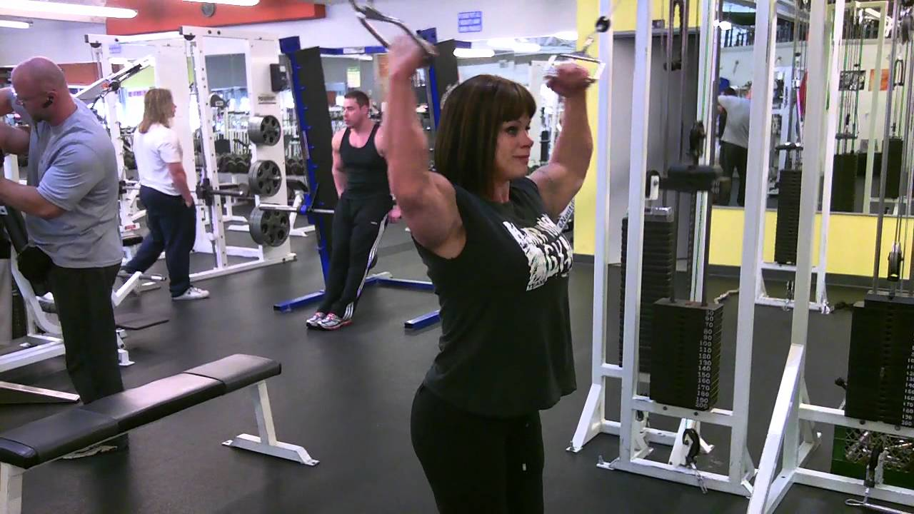 Cathy LeFrancois – Arms Workout