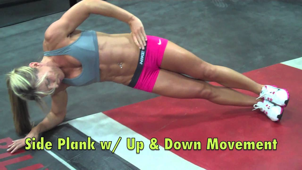 Sarah Grace – Abs & Arms Workout