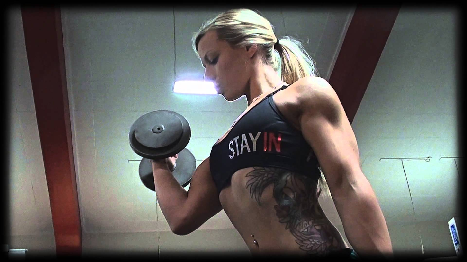 Cecilia Stendahl – Figure Girl Workout