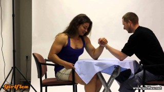 Simona vs. Raslaw – Mixed Armwrestling