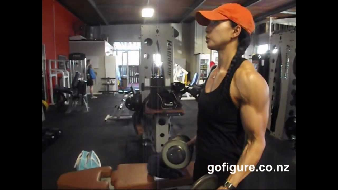 Yoko Washington – Workout Before Australian Grand Prix 2013