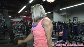 Tanya Hyde & Shannon Courtney Workout