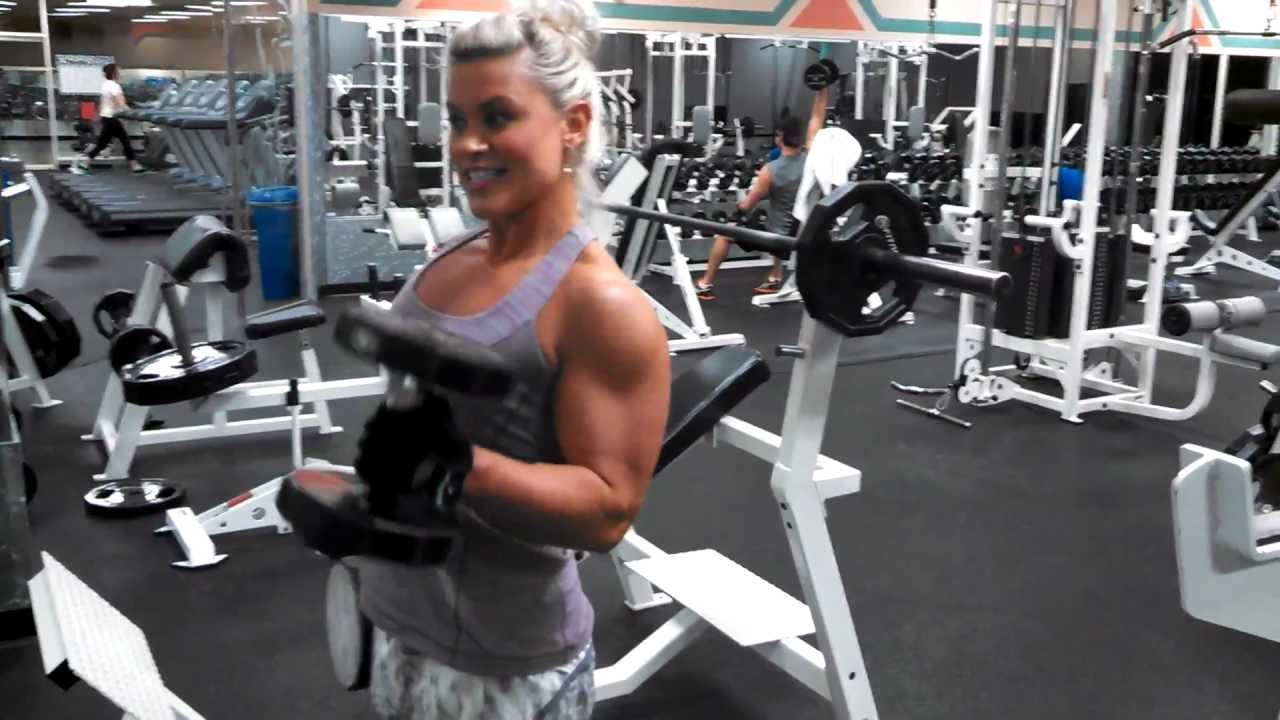 Tanya Hyde – Arms Workout Part 2