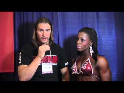 Michelle Bailey – Interview At The Arnold Classic 2013