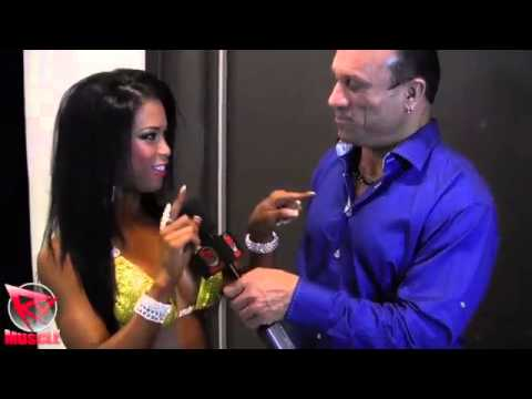 India Paulino – After Winning The Australian Grand Prix 2013 Interview