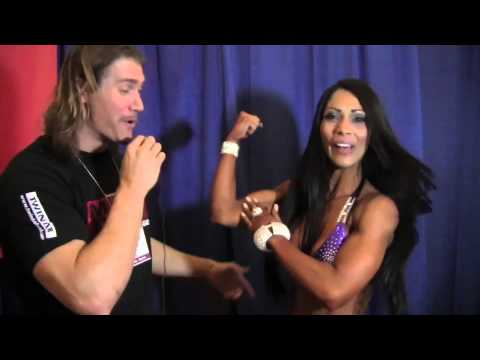 Marcela Goncalez Interview At Arnold Classic 2013