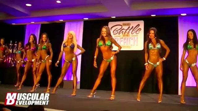 IFBB Battle On The Beach 2013 Prejudging
