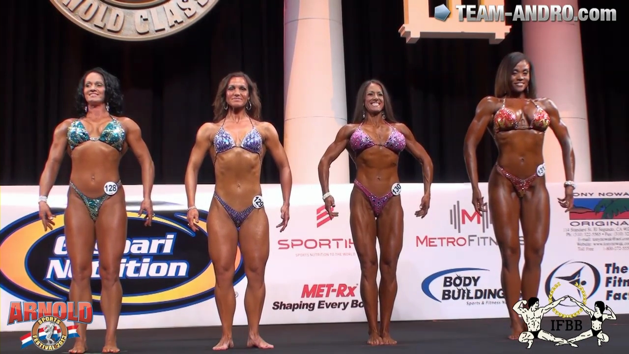 Prejudging Women´s Physique over 163cm Arnold Amateur 2013