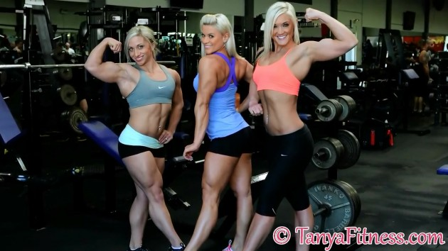 Rikki, Shannon, and Tanya