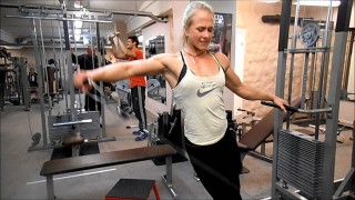 Sophie Arvebrink And Sarah Bäckman – Shoulders And Back Workout
