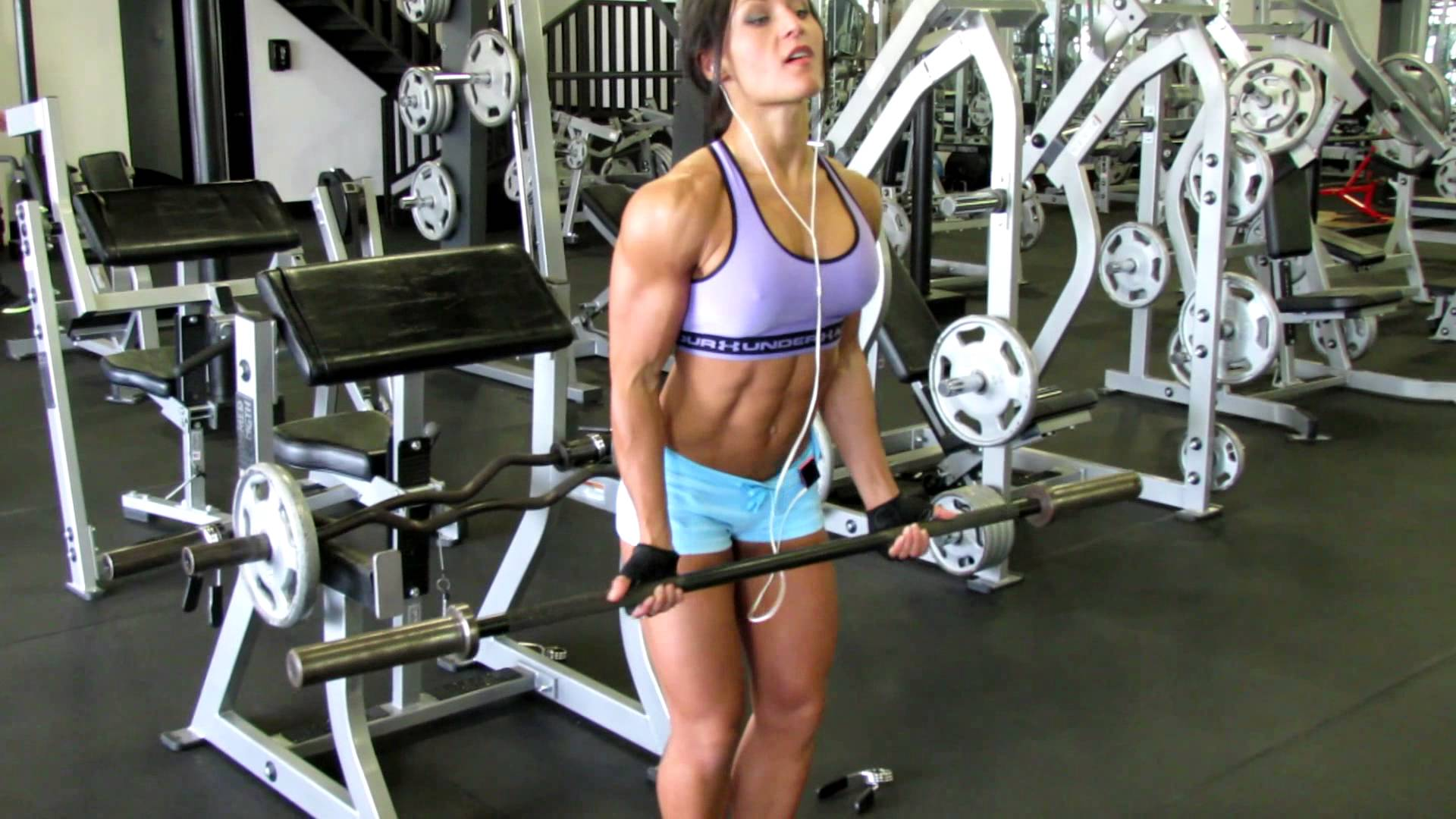 Karina Akmens – Arms Workout