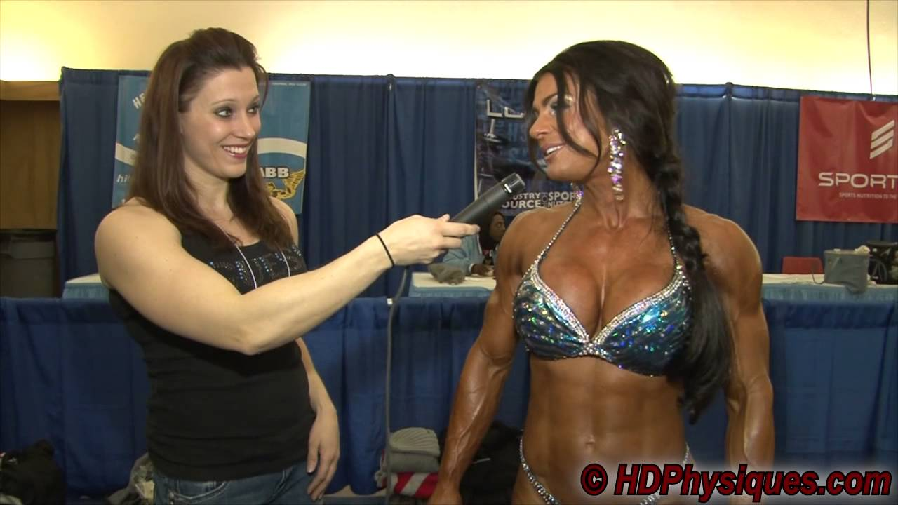 Kristina Dybdahl – Interview At The Arnold Classic 2013
