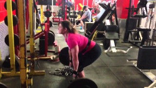 Jamie Pinder Deadlift
