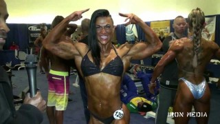 Suzy Kellner – Interview & Posing At The Arnold Classic 2013