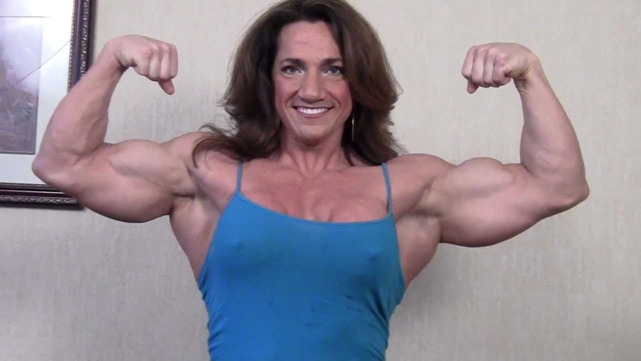 Anne Dudash – Big Biceps Flex