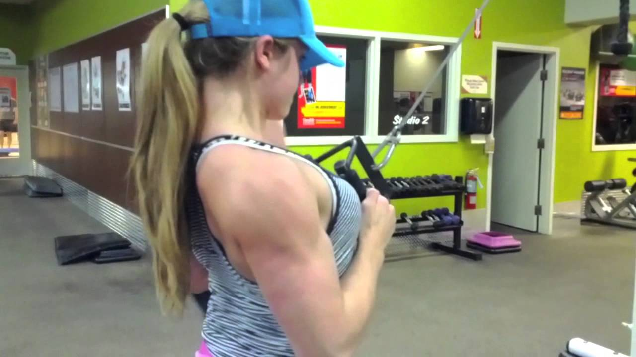 Katia Callegari – Back Workout 4 Weeks Out NSABBA 2013