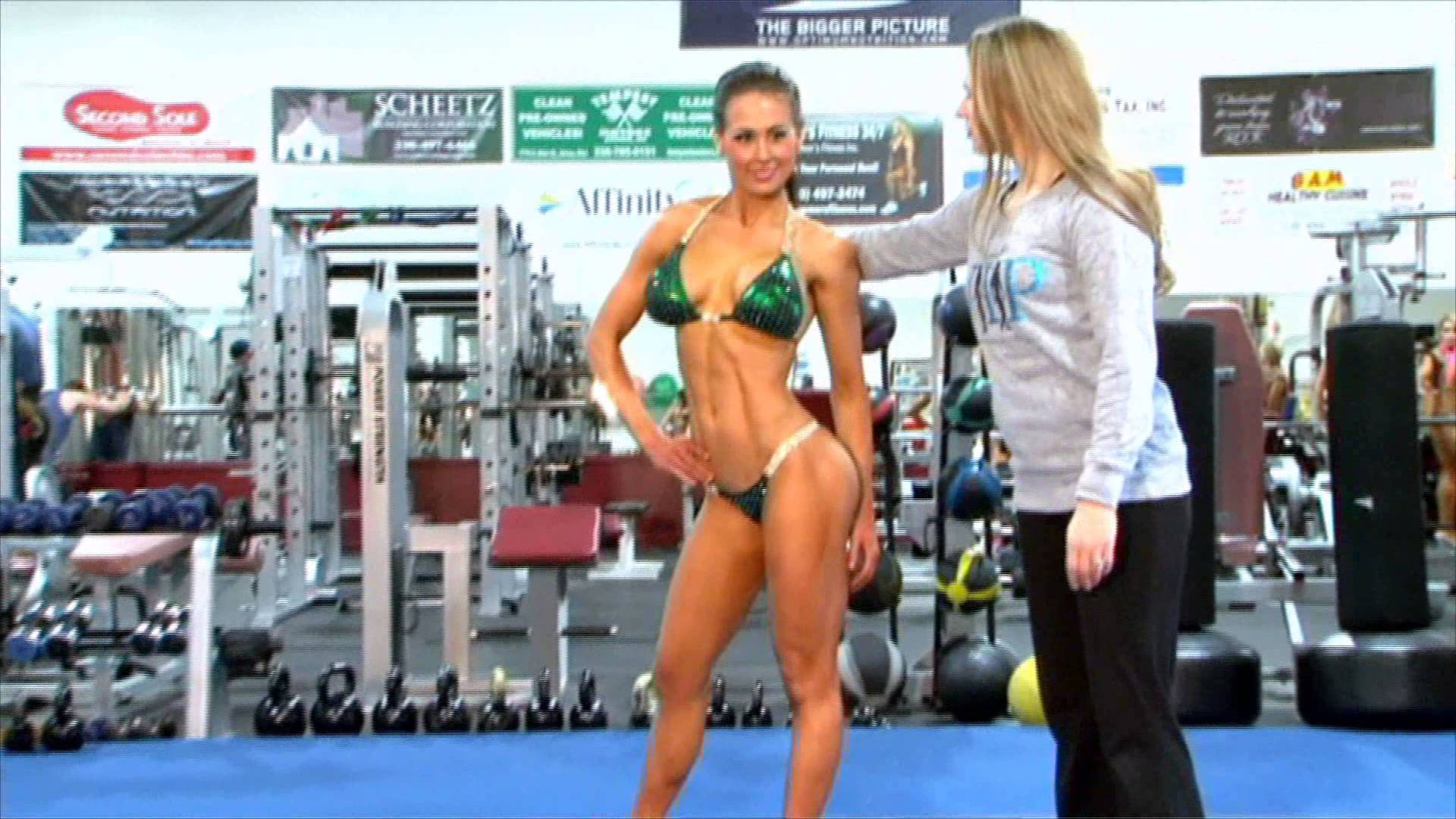 Ashley Kaltwasser – Preps For Arnold 2013