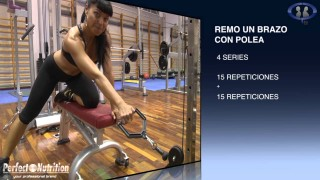 Inma Gual Workout
