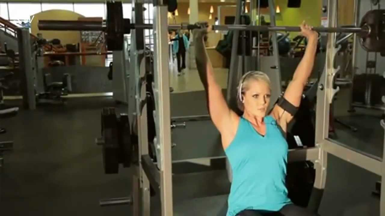 Nicole Wilkins – Shoulder Workout