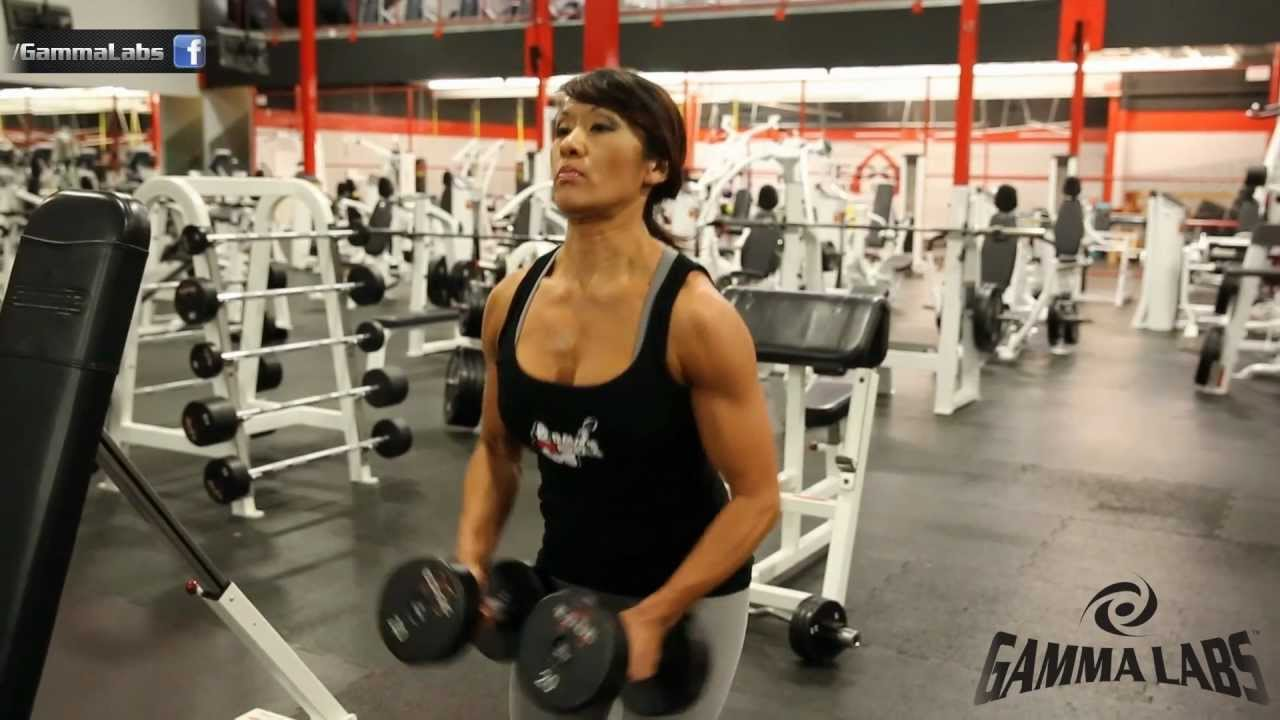 Marcia Goncalves – Shoulder Workout