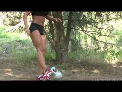 Sasha Brown – Playing With A Kettlebell