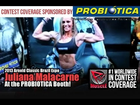 Juliana Malacarne – Arnold Classic Brazil 2013 Interview
