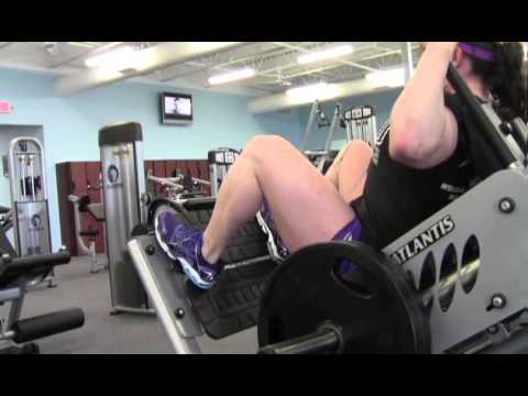 Alyssa Stroud – Quads Workout