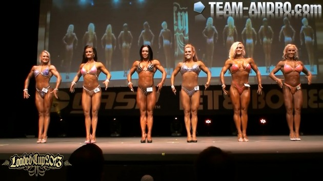 Final Body Fitness up to 163cm Loaded Cup 2013