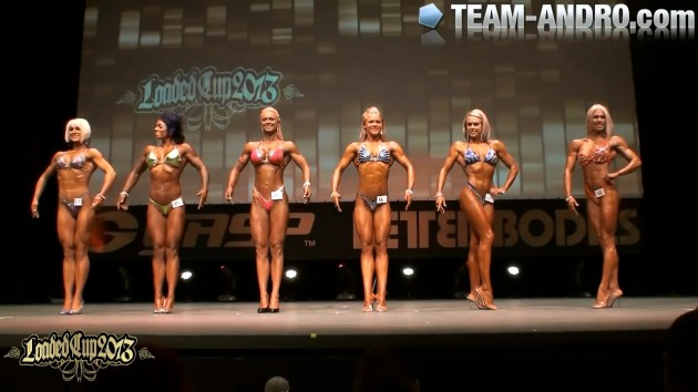 Loaded Cup Final Body Fitness over 168cm 2013