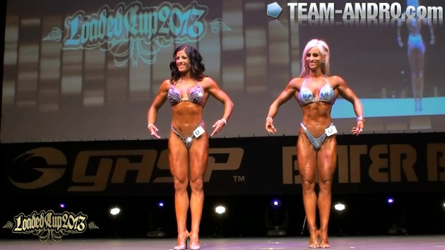 Loaded Cup Final Body Fitness up to 168cm